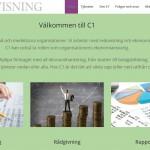 hemsida för läsplattor